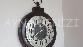 Tg 364 XL Ginza Model Aynalı Duvar Saati