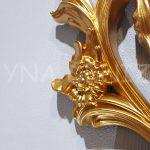 Vintage Taç Model Altın Renk Dekoratif Ayna-15