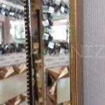 Ayna Çerçeveli Model Eskitme Altın Renk Boy Aynası-18