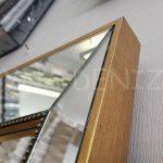 Ayna Çerçeveli Model Eskitme Altın Renk Boy Aynası-6