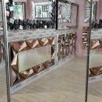 Ayna Çerçeveli Model Eskitme Gümüş Renk Boy Aynası-10