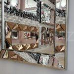 Ayna Çerçeveli Model Eskitme Gümüş Renk Boy Aynası-11
