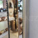 Ayna Çerçeveli Model Eskitme Gümüş Renk Boy Aynası-19