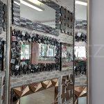 Ayna Çerçeveli Model Eskitme Gümüş Renk Boy Aynası-9