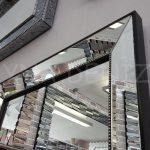 Ayna Çerçeveli Model Siyah Renk Boy Aynası-10