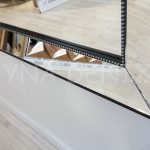 Ayna Çerçeveli Model Siyah Renk Boy Aynası-17