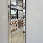 Ayna Çerçeveli Model Siyah Renk Boy Aynası-3