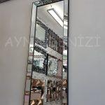 Ayna Çerçeveli Model Siyah Renk Boy Aynası-4