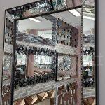 Ayna Çerçeveli Model Siyah Renk Boy Aynası-7