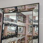Ayna Çerçeveli Model Siyah Renk Boy Aynası-8