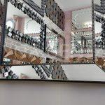 Ayna Çerçeveli Model Siyah Renk Boy Aynası-9