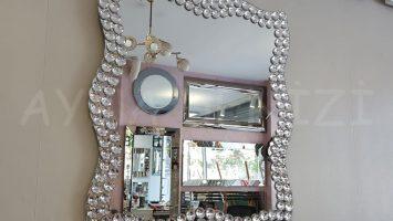 Kelebek Taş Model Taşlı Ayna