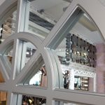 Klasik Model Gümüş Renk Dekoratif Pencere Ayna-8