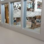 Klasik Model Gümüş Renk Dekoratif Pencere Ayna-9