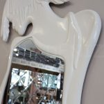 Kız Model Beyaz Renk Boy Aynası-21