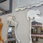 Kız Model Beyaz Renk Boy Aynası-27