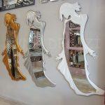 Kız Model Beyaz Renk Boy Aynası-31