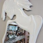 Kız Model Beyaz Renk Boy Aynası-5