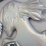 Kız Model Gümüş Renk Boy Aynası-19