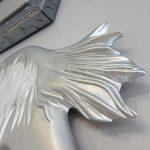 Kız Model Gümüş Renk Boy Aynası-21