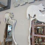 Kız Model Gümüş Renk Boy Aynası-31