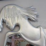 Kız Model Gümüş Renk Boy Aynası-7