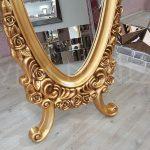 Selvi Model Altın Renk Ayaklı Boy Aynası-13