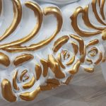 Selvi Model Beyaz Sedef Renk Ayaklı Boy Aynası-17