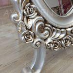 Selvi Model Gümüş Renk Ayaklı Boy Aynası-11
