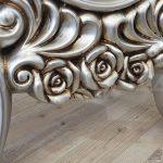 Selvi Model Gümüş Renk Ayaklı Boy Aynası-13