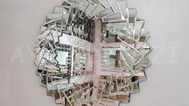 Rüzgar Gülü Model Modern Ayna
