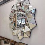 Kristal Model Modern Ayna-10
