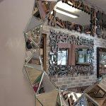 Kristal Model Modern Ayna-19