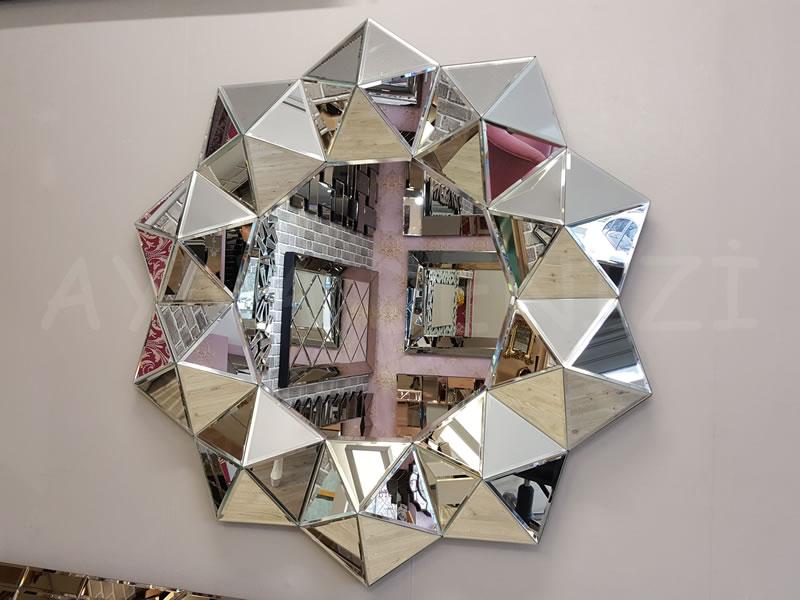 Kristal Model Modern Ayna