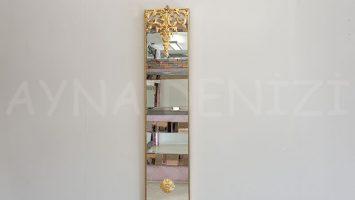 Floransa Model Altın Renk Dekoratif Niş Ayna