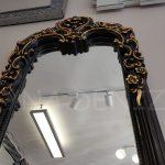 Klasik Boncuklu Model Siyah Renk Boy Aynası-9