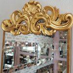 Nice Model Altın Renk Dekoratif Niş Ayna-11