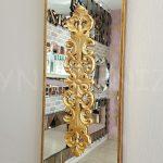 Nice Model Altın Renk Dekoratif Niş Ayna-8