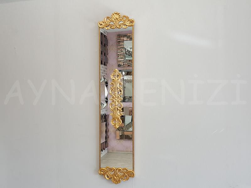 Nice Model Altın Renk Dekoratif Niş Ayna