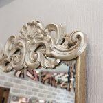 Nice Model Gümüş Renk Dekoratif Niş Ayna-7