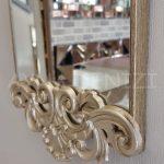 Nice Model Gümüş Renk Dekoratif Niş Ayna-9