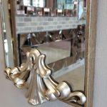 Paris Model Gümüş Renk Dekoratif Niş Ayna-11