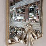 Paris Model Gümüş Renk Dekoratif Niş Ayna-12