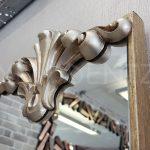 Paris Model Gümüş Renk Dekoratif Niş Ayna-8