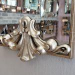 Paris Model Gümüş Renk Dekoratif Niş Ayna-9