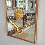 Vanetta Model Altın Renk Dekoratif Niş Ayna-10