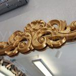 Vanetta Model Altın Renk Dekoratif Niş Ayna-6