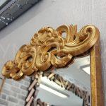 Vanetta Model Altın Renk Dekoratif Niş Ayna-8