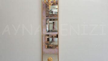 Venedik Model Altın Renk Dekoratif Niş Ayna