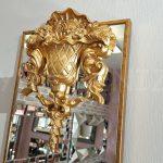 Venedik Model Altın Renk Dekoratif Niş Ayna-5